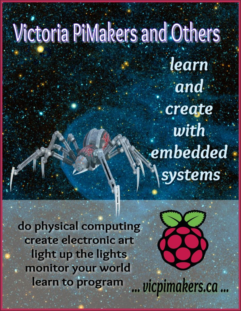 cybug victoria pimakers and others learn to create with embedded systems